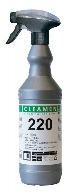 CLEAMEN 220 nerez leštič