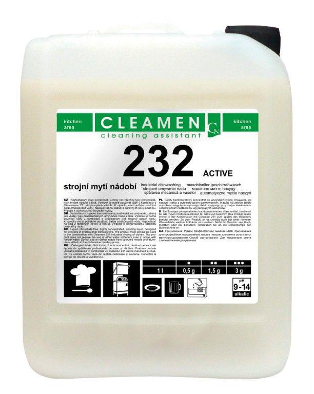 CLEAMEN 232 strojní mytí ACTIVE