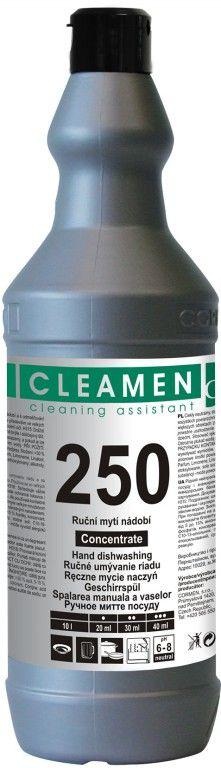 CLEAMEN 250 ruční mytí nádobí koncentrát