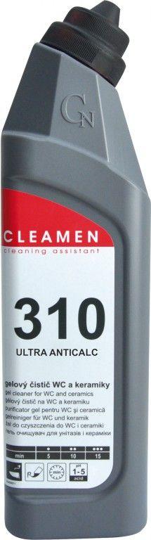 CLEAMEN 310 extra kyselý na WC a keramiku