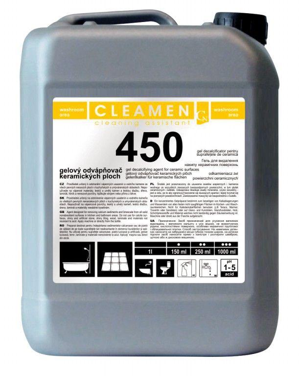 CLEAMEN 450 gelový odvápňovač ploch