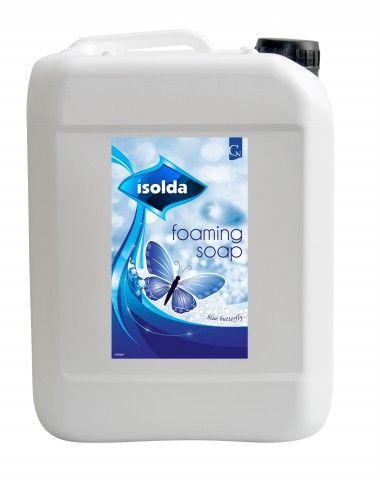 ISOLDA pěnové mýdlo modré