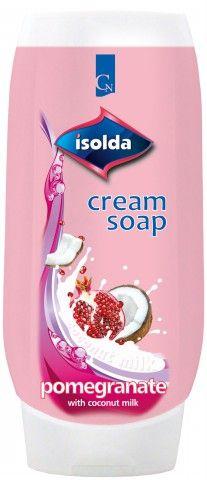 ISOLDA tekuté mýdlo Pomegranate