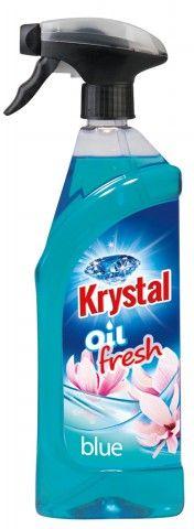 Krystal olejový osvěžovač modrý
