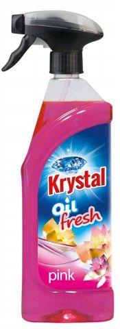 Krystal olejový osvěžovač růžový