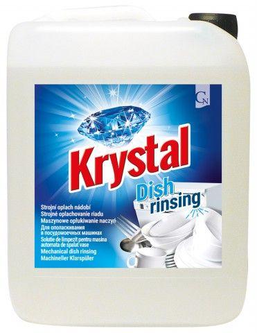 Krystal strojní oplach nádobí