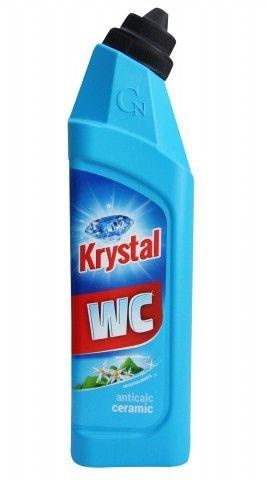 Krystal WC kyselý na keramiku modrý