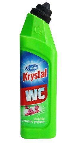 Krystal WC kyselý na keramiku s ochranou zelený