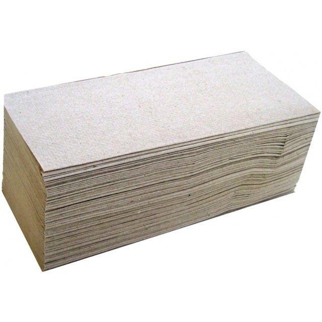 Papírové ručníky 1 vrstvé šedé ZZ - 9,5 kg