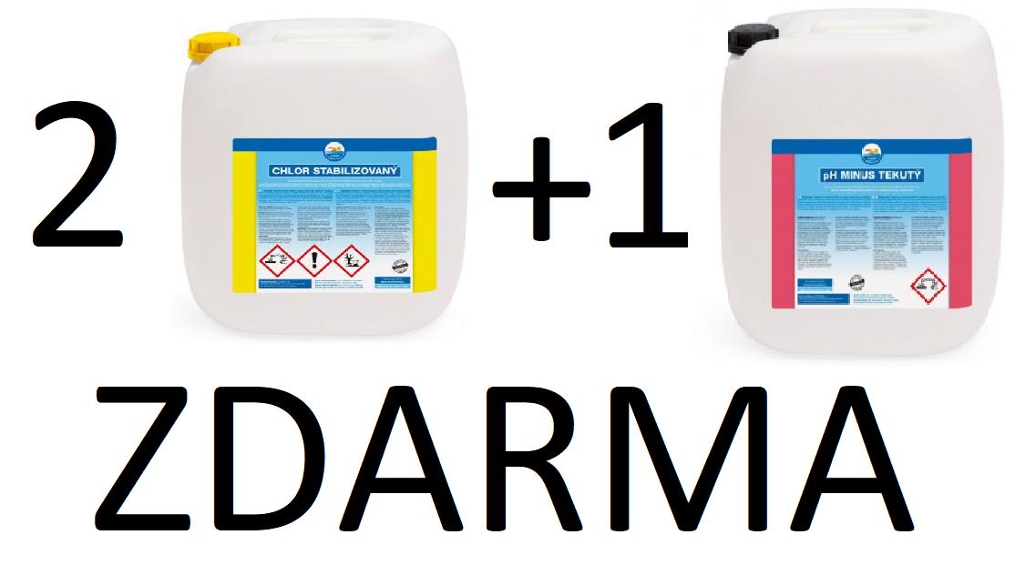 PROXIM Chlor 2+1 PROXIM pH mínus ZDARMA